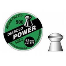 Пули пневм Diabolo Power 4,5 мм 0,6 гр. (500 шт/уп)