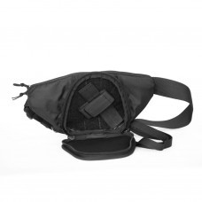 Сумка 9 Tactical Casual Bag S Mini Black ECO Leather