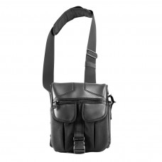 Сумка 9 Tactical Casual Bag M Black ECO Leather