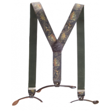 Подтяжки Jahti Jakt Camo Suspenders Leather